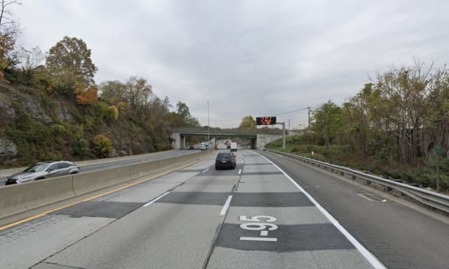 I-95 in Mamaroneck.