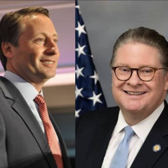 The race between former Westchester County Executive Rob Astorino and Sen. Pete Harckham is heating up