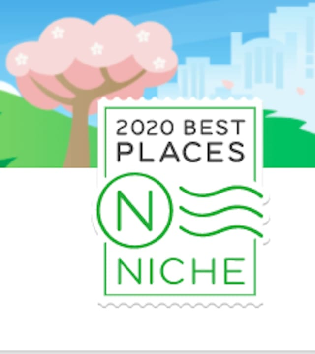 Niche 2020 Best Places To Live.