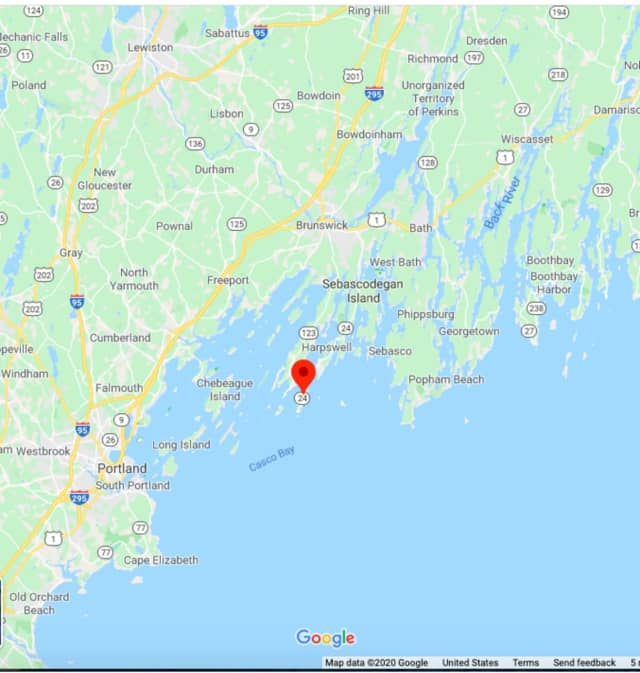 Bailey Island in Harpswell, Maine.