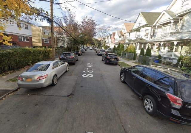 South 8th Avenue between 1st Street and 2nd Street in Mount Vernon, where the teen was fatally shot.