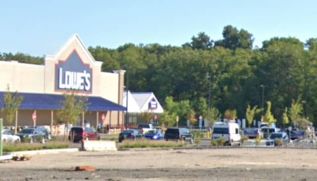 Parking lot of Lowe's in Hanover