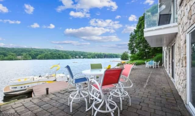 This Pines Lake Drive home is listed at $1.28 million on Zillow.