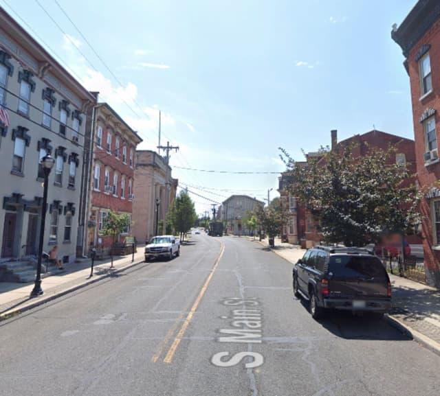 100 block of S. Main Street in Phillipsburg