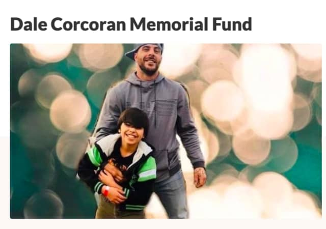 Dale Corcoran and son, Antonio