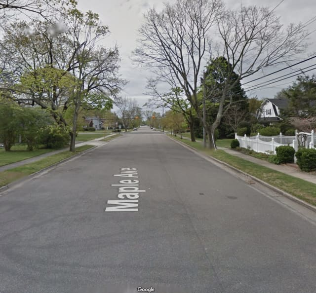 A man was found shot and killed on Maple Avenue in Patchogue