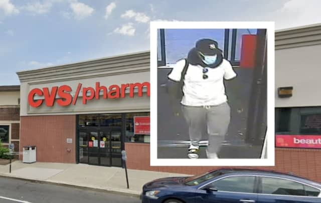Bloomfield police are seeking a man who they say stole $750 worth of cologne and perfume from a CVS.