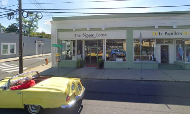 The Golden Goose jewelry store at 7 West River Road in Rumson