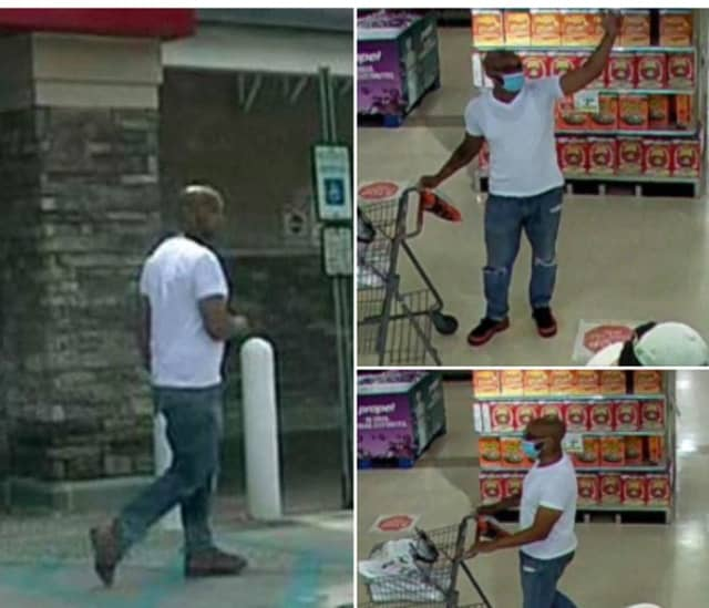 Authorities are seeking the public's help identifying a man wanted for shoplifting from the ShopRite in Burlington County.