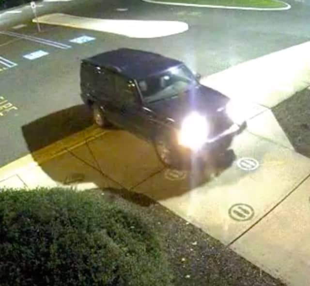 Seen this? East Brunswick say this Jeep smashed into the front doors of an elementary school.
