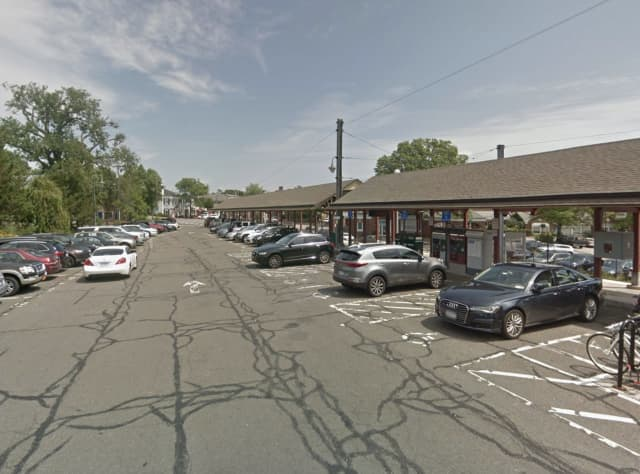 The teen was found at the Elm Street train station in New Canaan.