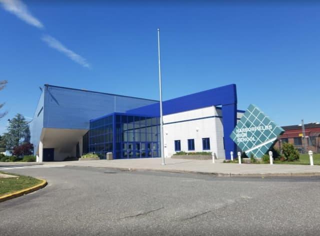 Harborfields High School.