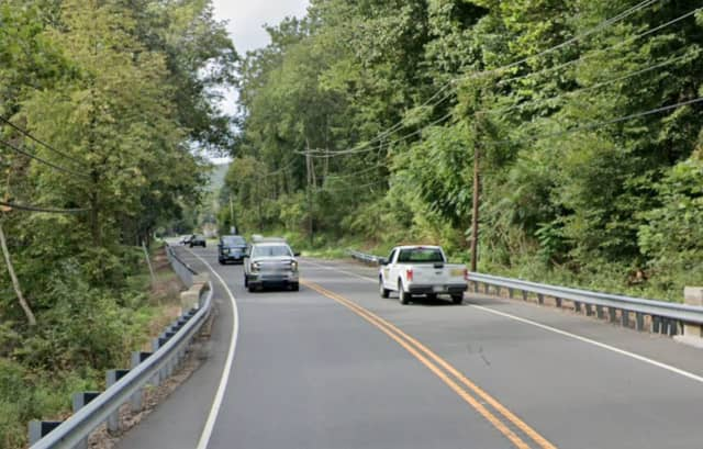 Route 57 in Mansfield Township