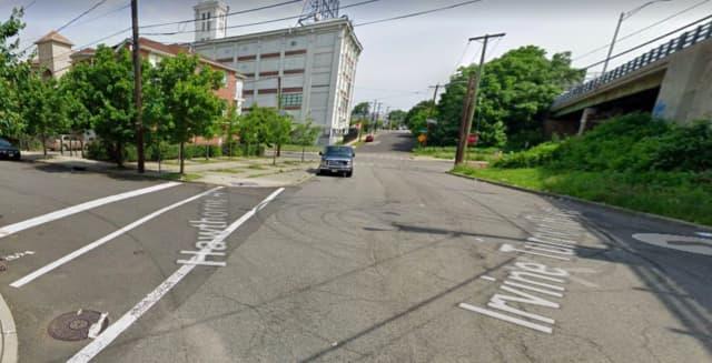 Irvine Turner Boulevard at Hawthorne Avenue