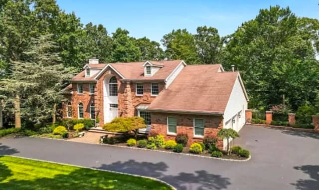 This Bridgewater home on Tower Drive is listed at $1.15 million on Zillow.