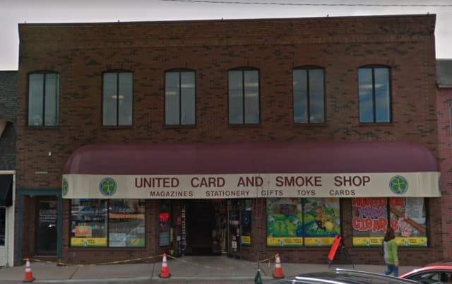 United Card & Smoke Shop on Broadway in Denville