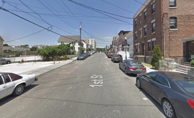 A woman was attacked by her pit bulls on 1st Street in New Rochelle.
