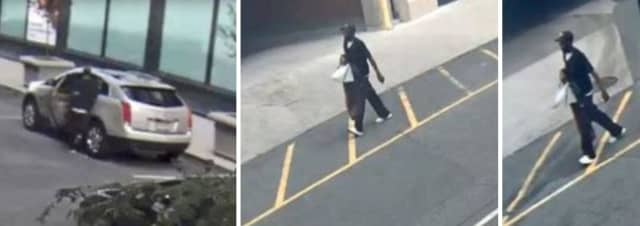 The suspect wascaptured on surveillance video taking personal items from an unlocked vehicle parked at Broad Street and New Street around 1:30 p.m. Sept. 28,Newark Public Safety Director Anthony F. Ambrose said.