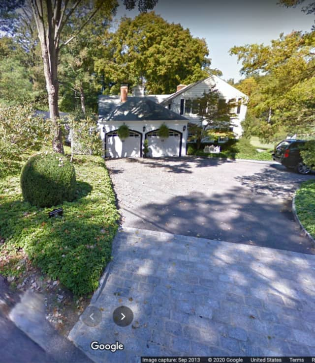 Cuomo's former home at 4 Bittersweet Lane in New Castle in Northern Westchester County.
