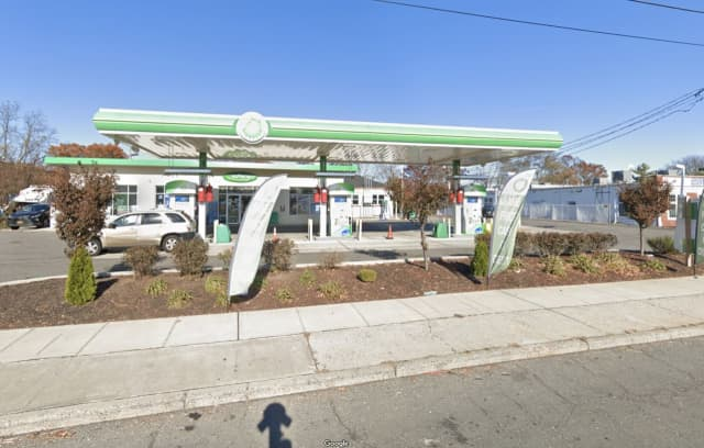 A man was shot at the BP gas station on Sunrise Highway in West Babylon.