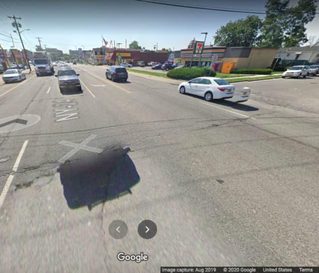 Fulton Avenue and California Avenue in Hempstead.