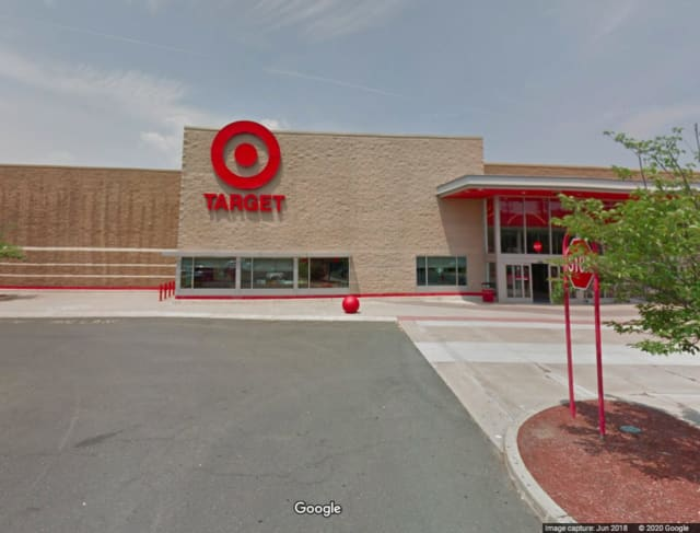 The Target where the robbery took place