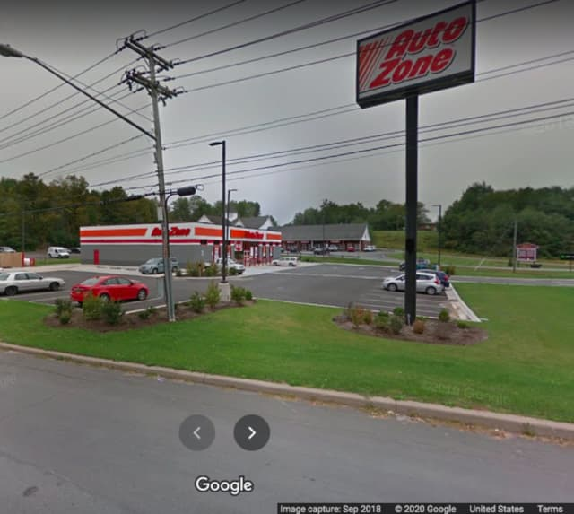 AutoZone on Route 52 in Liberty.