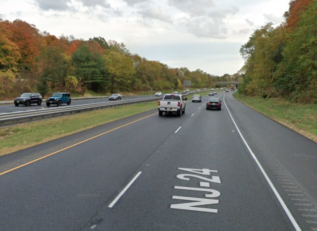 Route 24 in Florham Park