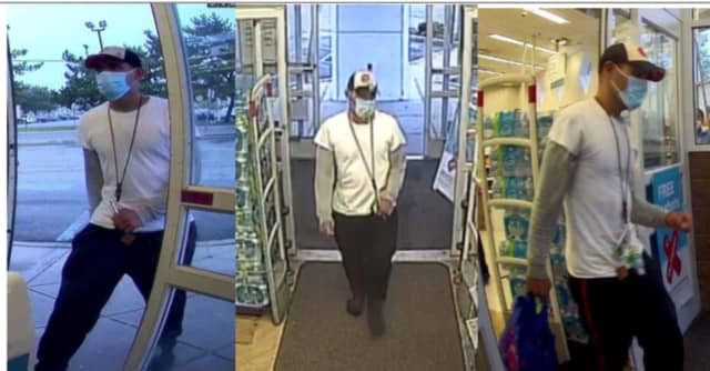 Police say this man stole razor blades from Walgreens in Bloomfield.