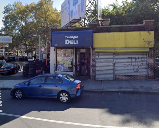 A man was found shot to death at the Triangle Deli on Ashburton Avenue in Yonkers.