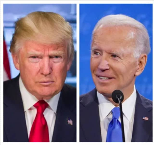 President Donald Trump and former Vice President Joe Biden.