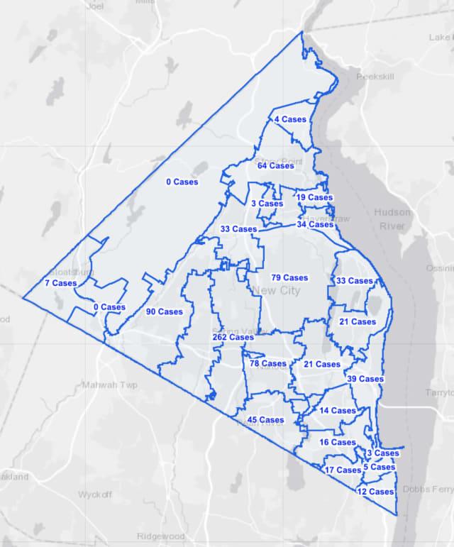 The Rockland County COVID-19 breakdown on Friday, Nov. 13.