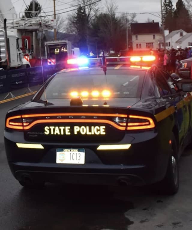 An Orange County man was arrested after fleeing from New York State Police following a pursuit on I-87.