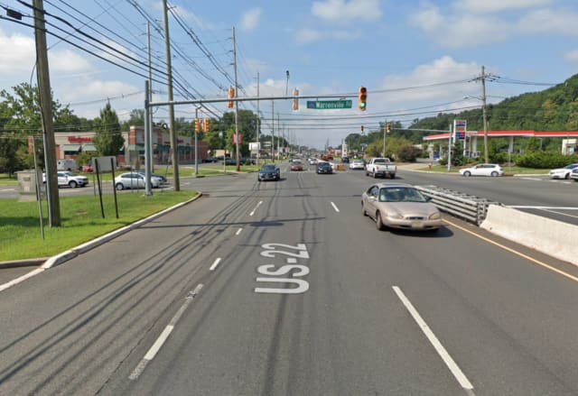 Route 22 in Green Brook