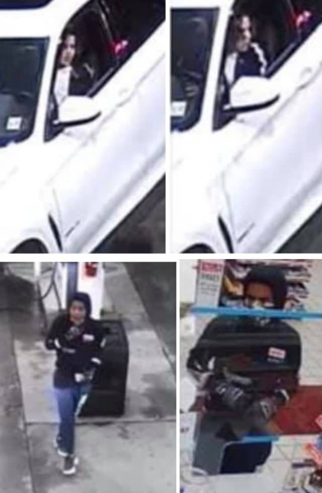 Police are seeking the public's help identifying two suspects they say stole a BMW that was left running in Newark last week.