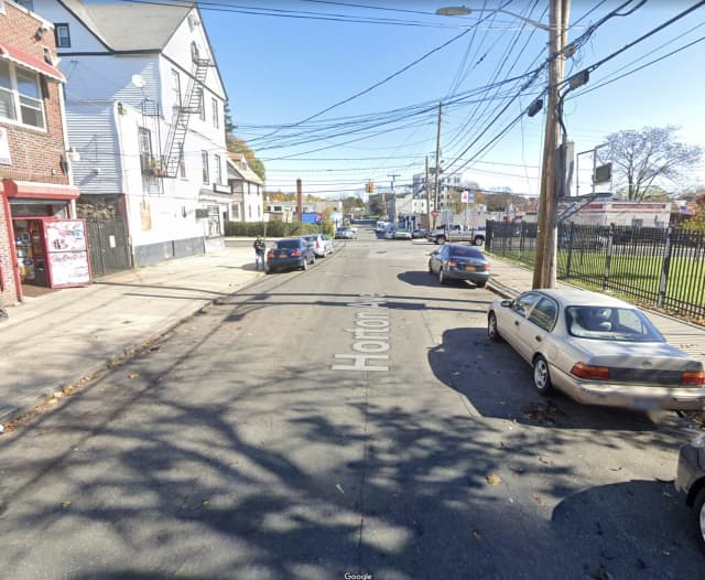 A man was shot on Horton Avenue near the intersection with Brook Street in New Rochelle
