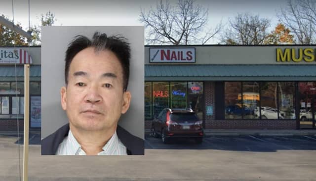 James Kit Vong, who owns Artisan Nails, was arrested Nov. 4 in Philadelphia, police said.