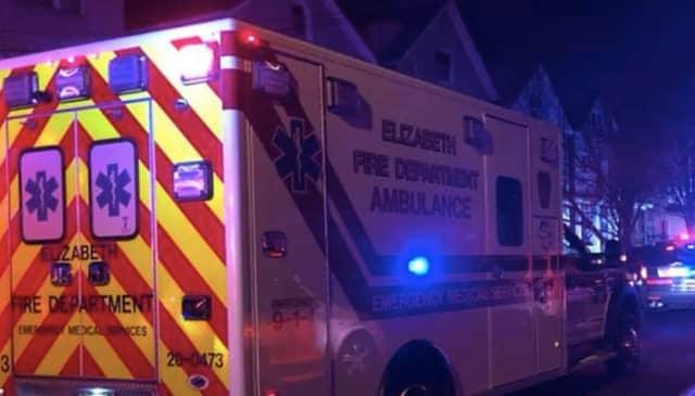 Elizabeth Fire Department Ambulance