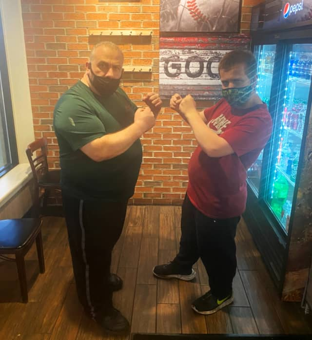 Erik Inserra, 19, and his father, Charlie, 47, have teamed up to bring a whole new level of sophistication to the Fair Lawn pizza scene.