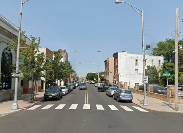 Area of MLK Drive and Wilkinson Avenue in Jersey City