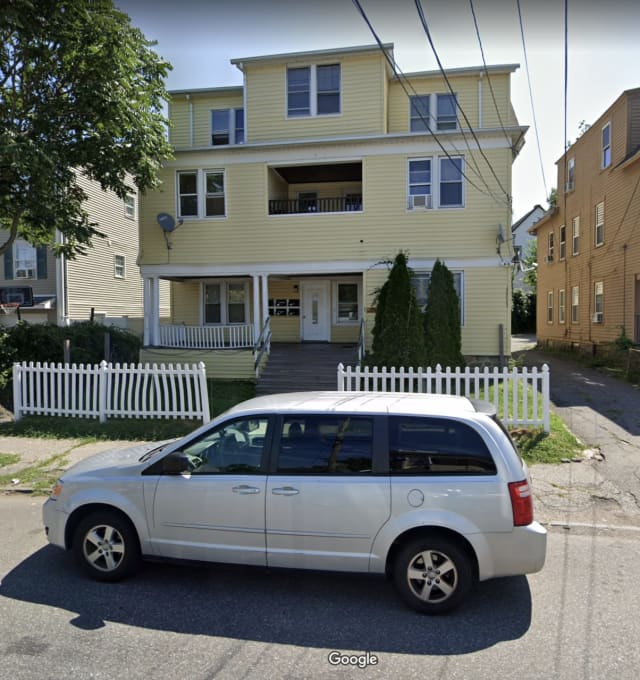 Police are searching for the killer of a Bridgeport man who was found in front of a home suffering from wounds.