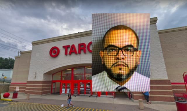 New Jersey Parole officer Jorge Ortega was charged with stealing from the North Bergen Target store in a sneaky way for months, authorities said.