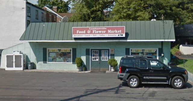 Lambertville Fine Food & Flowers on Bridge Street