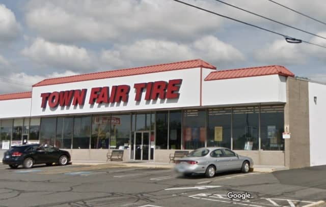 A New Haven man was shot and killed while working at the Town Fair Tire in Orange.