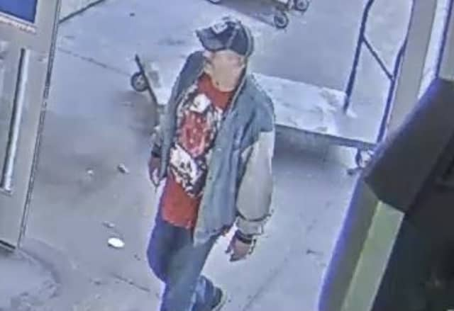 Suffolk County Crime Stoppers and Suffolk County Police Sixth Squad detectives are seeking the public's help to identify and locate the man who stole merchandise from a Medford store in November.