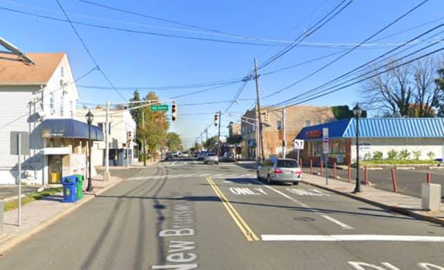 New Brunswick Avenue in Fords