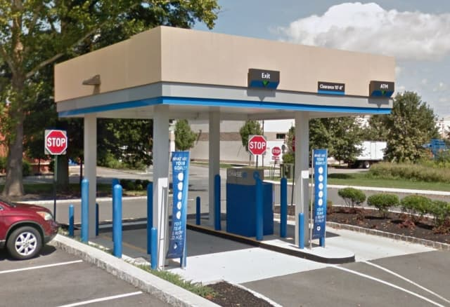 Drive-thru of Chase Bank (318 Rt. 31 in Flemington)