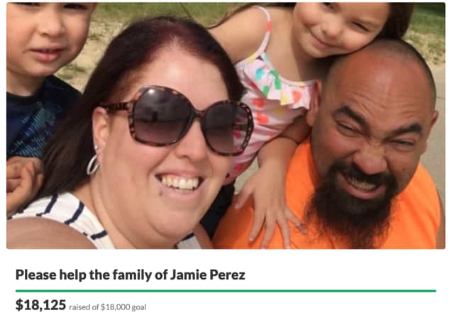 A GoFundMe for Perez's family has garnered more than $18,000 in donations since its creation on Jan. 2.