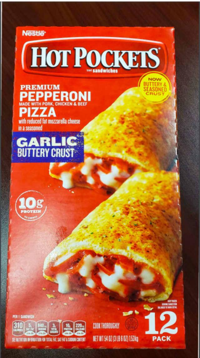 Pepperoni hot pockets