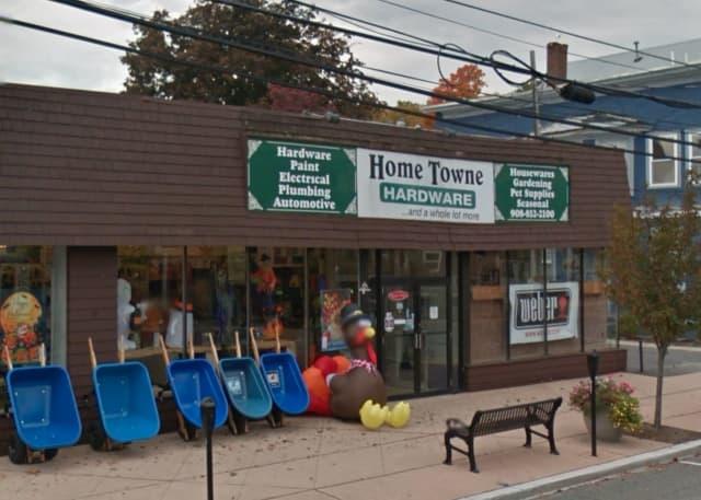 Home Towne Hardware on Main Street in Hackettstown